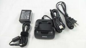 Boxed Dell Original T6214 USB Cradle+PSU PA14 for Axim X50 X50v X51 X51v (T2411)