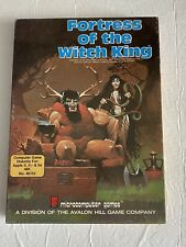 Fortress Of The Witch King*Vintage Computer Role Playing Game**Tested & Works**