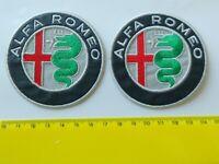 PATCH ALFA ROMEO NUOVO LOGO PZ 2 RICAMATO TERMOADESIVO DIAM CM  7-COD.717
