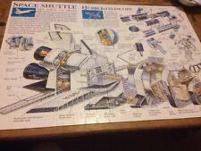 jigsaw puzzle space shuttle hubble telescope 7+ astronaut rocket ship 200 pieces