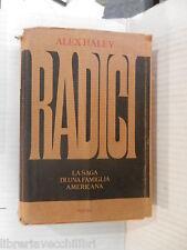 RADICI Alex Haley Rizzoli 1978 libro romanzo narrativa racconto storia di