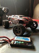 Traxxas 1/16 E-Revo Upgraded In Great Shape with 2 New Lipo Batteries