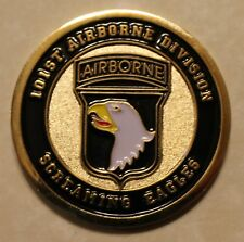 101st Airborne Division Army Challenge Coin USA         E