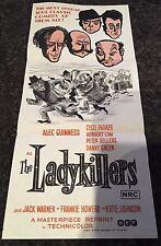 LADYKILLERS Aust daybill R72 cool art , Alec Guinness