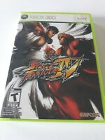 Microsoft Xbox 360 Street Fighter IV 2009 COMPLETE