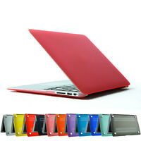 Hard back Rubberrized For Apple MacBook Air 11.6'' 13.3'' Frosted Case Cover