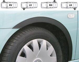 SEAT IBIZA 6L Radlauf Zierleisten SCHWARZ MATT 4 Stück Fünftürer Bj. 02-08