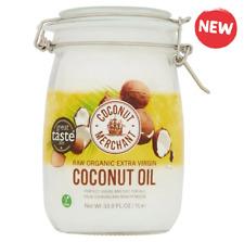 Noix de Coco Marchand Brut Bio Extra Vierge Huile de Coco 1LT