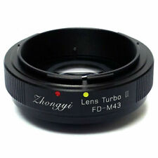Zhongyi Mitakon Lens Turbo V2 Adapter Focal Reducer Canon FD to M43 MFT BMPCC