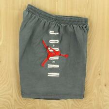 vtg og usa made Nike Air Jordan gym shorts LARGE jump man logo 1990's