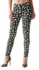 NEW GUESS 1981 HIGH RISE SKINNY WITH FALLING DAISY PRINT JEANS SZ: 28