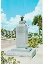 Fort Myers Statue General Robert E Lee 1960 FL