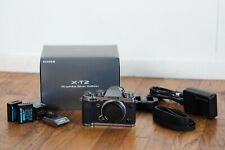 Fujifilm X-T2 Mirrorless Digital Camera Body - Graphite Silver - w/Accessories