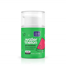 Clean & Clear Hydrating Watermelon Gel Facial Moisturizer, Oil-Free Daily Face &