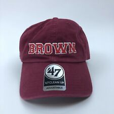 Brown University Bears NCAA 47 Brand Clean Up Adjustable Hat Brand New