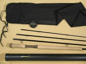 """SAGE ONE 8136-4 SPEY ROD •SPECTACULAR CONDITION • 13' 6"""" • FOR #8 WEIGHT LINE"""