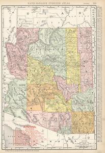 1908 ARIZONA  Railroads