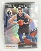 2019-20 Hoops Premium Stock Luka Doncic LIGHTS CAMERA ACTION SILVER PRIZM #15