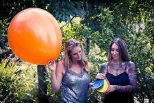 "1 x PIC PIC / Riberball 25"" Luftballons *PLAIN*UNBEDRUCKT* (South America)"