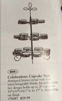 Celebrations Cupcake Tree Vintage Home Interiors & Gifts GTC New Last One