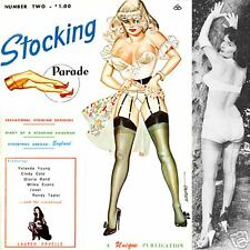 STOCKING PARADE 2 1965 Selbee Eneg Bilbrew high heels corsets ebooks on CD