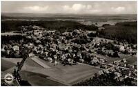 Königsfeld Schwarzwald alte Ansichtskarte ~1950/60 Gesamtansicht Luftaufnahme