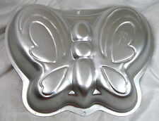 Wilton Cake Pan Butterfly, Fairy, Year 2003 No.2105-2079 Used But Good