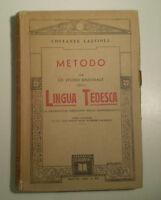 C973 METODO PER LO STUDIO RAZIONALE LINGUA TEDESCA LAZZIOLI VANNINI BRESCIA '42