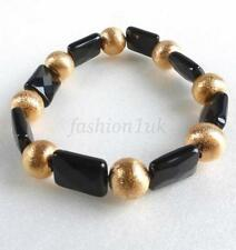 Yellow Gold Plated Stone Fashion Bracelets