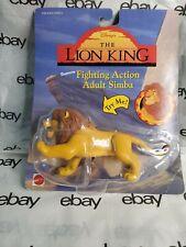 Lion King Fighting Action Figure Adult Simba NIP Vintage