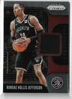 2019-20 Panini prizm sensational swatches jersey relic Rondae Hollis-Jefferson