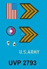 Peddinghaus 1/16 US Army Sergeant in ETO WWII Insignia (Verlinden 2793) UVP2793