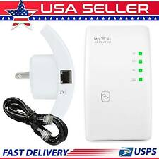 300 Mbps Wireless WiFi Repeater Extender  802.11N AP Router Signal Range Booster
