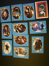 TOPPS 1991 ~HOOK PETER PAN MOVIE CARD-STICKERS  SET OF 11 (e19)