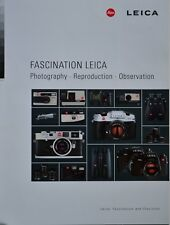 FASCINATION LEICA CAMERA SYSTEM BROCHURE