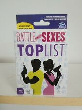 Battle of the Sexes Top List Card Game. Free Shipping.