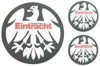 Eintracht Frankfurt SGE Aufkleber Sticker Set - 3 Logos Bundesliga Fussball #637