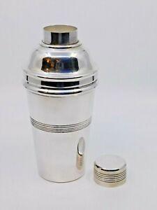 Vintage Silver Plated Cocktail Shaker / EPNS