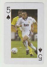 Football World Cup 2006 Playing Card single - Roberto Carlos - Real Madrid