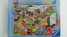 Ravensburger 1000 puzzle Best of British No 7 Knotworth Bothrynwithe Car Boot