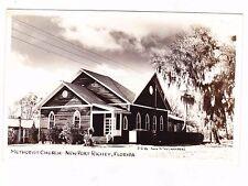 METHODIST CHURCH--NEW PORT RICHEY FLORIDA---PHOTO POSTCARD