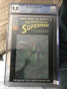 Adventures of Superman #500 CGC 9.8 (1993) - Collector's Edition - 1st app Steel