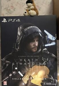 DEATH STRANDING COLLECTORS EDITION PLAYSTATION 4 PS4 PS5 BB Pod Statue Steelbook