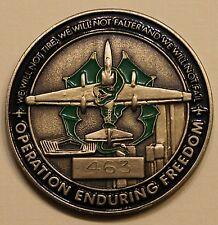 99th Aircraft Maint Unit Al Dhafra AB, UAE U2 ser#463 Air Force Challenge Coin