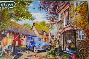 "Falcon Puzzle "" The Blacksmith`s Cottage"" 1000 Teile"