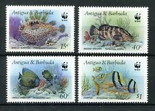 Antigua und Barbuda 1010/13 postfrisch / WWF - Fische ....................2/1668