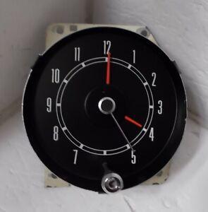 1968 Mercury Montego Comet Clock Beautiful Serviced Works 68 Cyclone