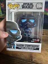Funko Pop Star Wars Shadow Stormtrooper Gamestop Exclusive In Hand