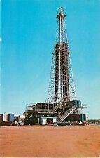 Vintage Postcard; Oklahoma's Deepest Oil Well 4 1/2 Miles Elk City OK Beckham Co