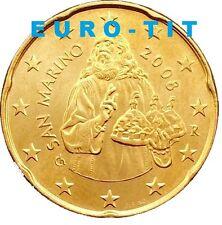 20    CENTIMES   SAINT  MARIN    2008   NEUVE    ASSEZ  RARE    //    disponible